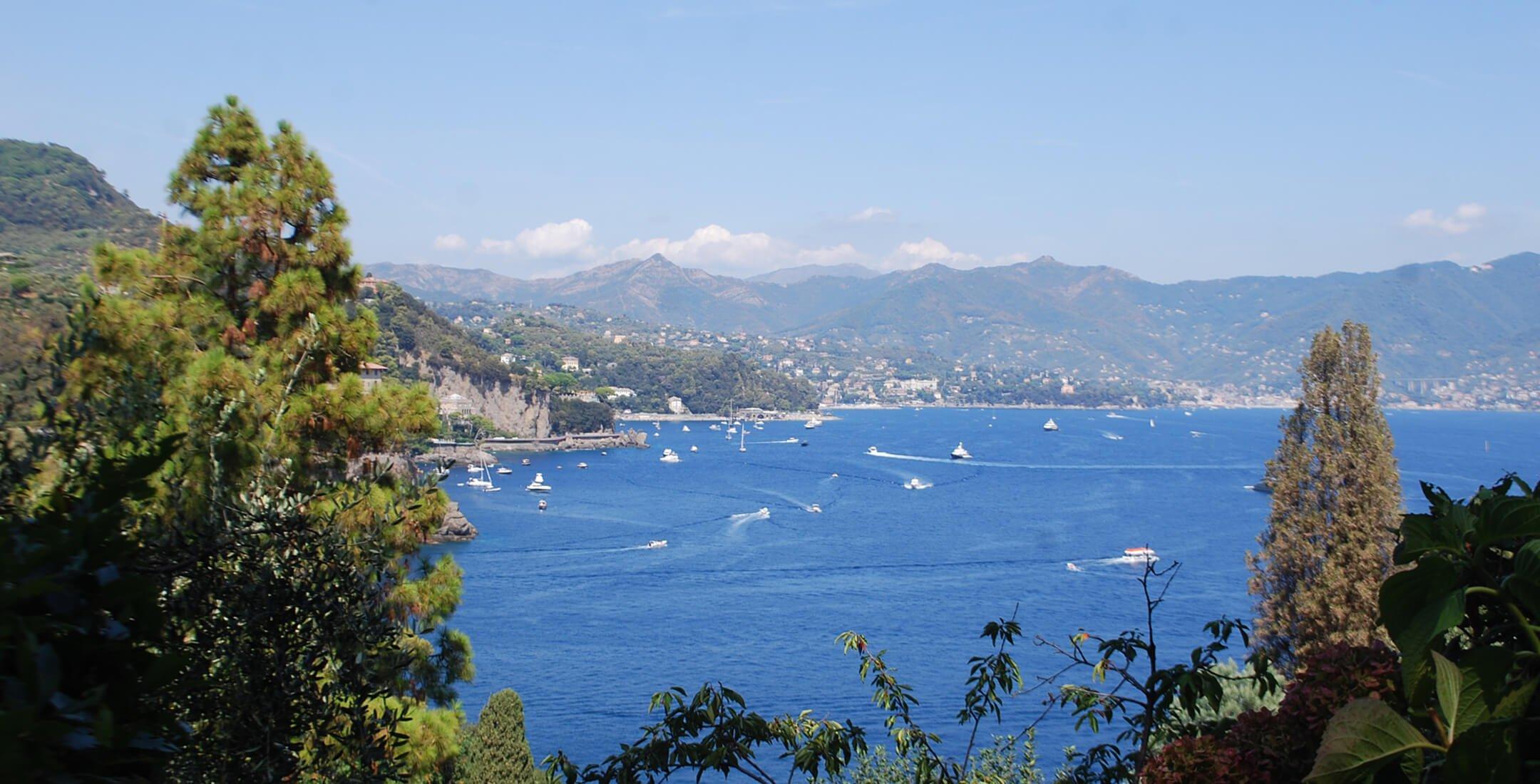 Panorama da Portofino
