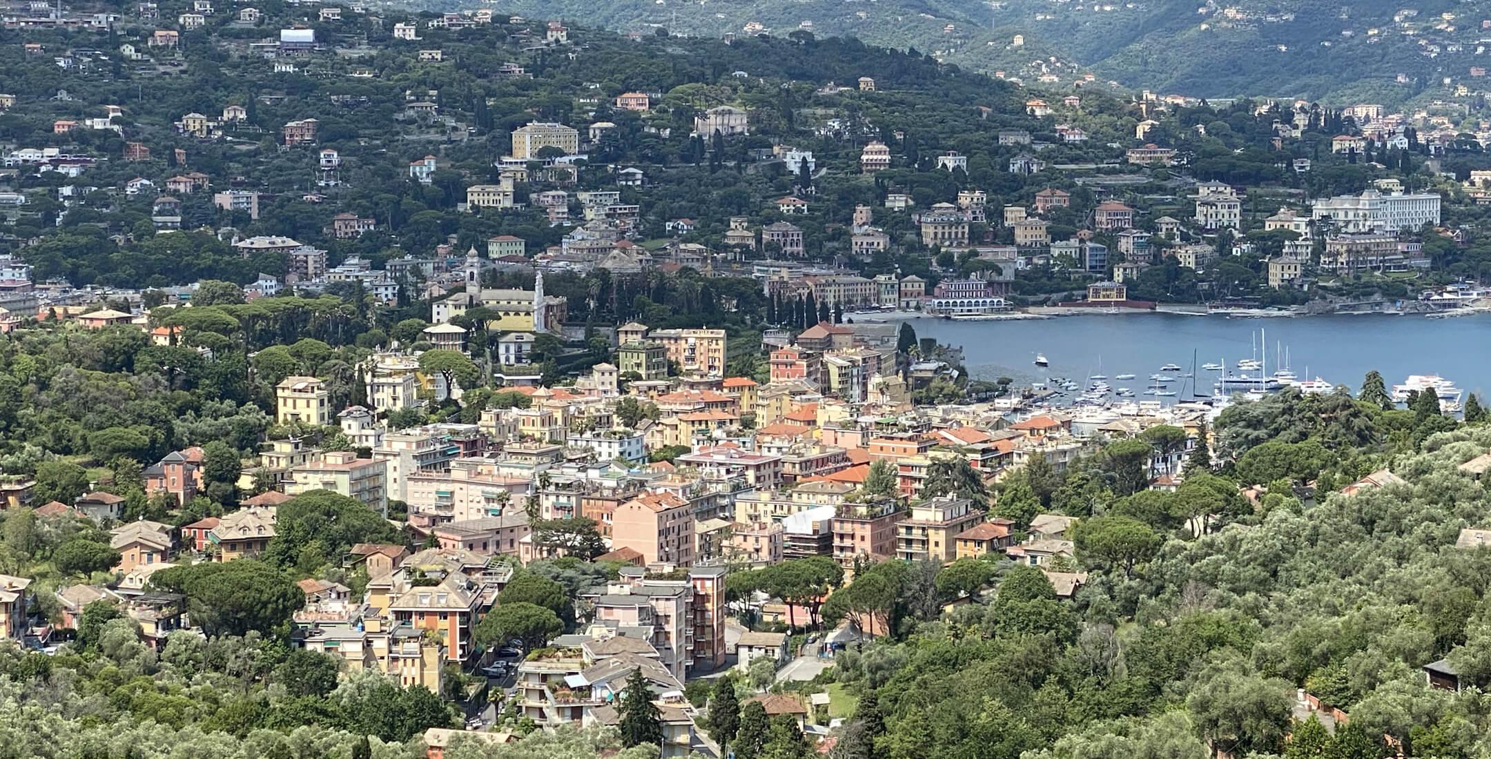Vista di Santa Margherita Ligure (Nozarego)