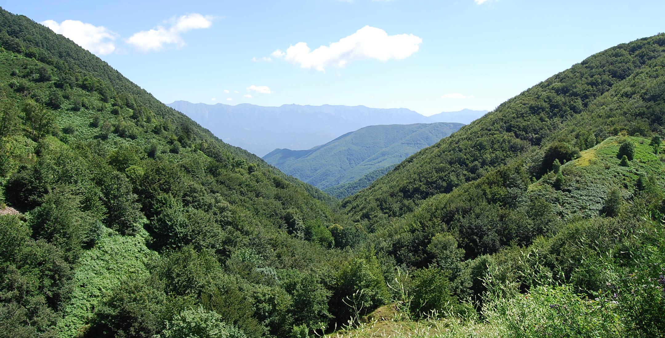Vista della Val di Vara (Zignago)
