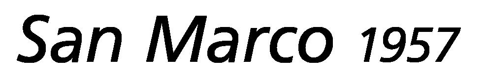 SAN MARCO 1957 logo